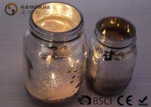 China Wine Bottle Led Lights Mason Jar Outdoor Lights Glass / Plastic Material on sale