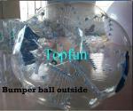 Boule de butoir de pare-chocs de PVC Zorb de la boule 1.00mm de corps gonflable de sports en plein air