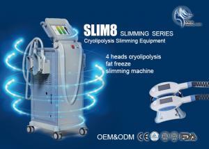 China Cryolipolysis Fat Freezing Machine Zeltiq Cryotherapy Machine With 4 Handpiece on sale