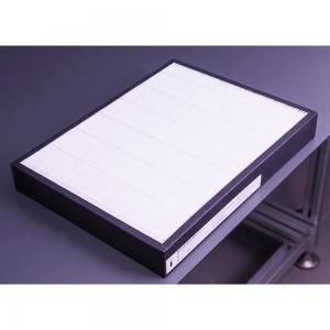 China Hot-selling H11-H14 Efficiency and Light Weight H13 air fiberglass filter media on sale