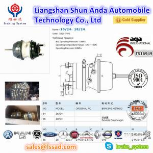 China spring brake chamber and brake booster t3030/t2430/t2424 and brake cylinder  for trailer and trucks with TS16949 on sale