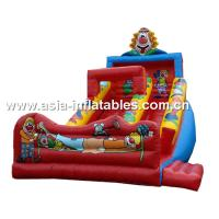China Inflatable Joker Slide For Children Birthday Party Rental Games on sale
