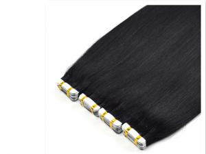 China wholesale real human hair straight tape in hair extensions on sale