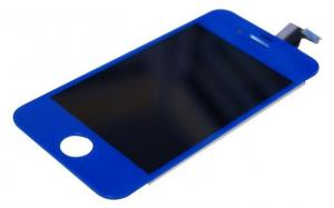 China Dark Blue Apple IPhone 4 Digitizer LCD Assembly Replacement on sale