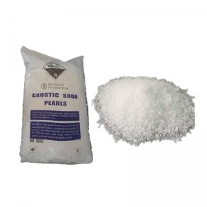 China Industrial Grade Detergent Powder Raw Material Caustic Soda 99% For Soap CAS 1310 73 2 on sale