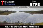 ETFE film architecture membrane building transparency roof shade structure