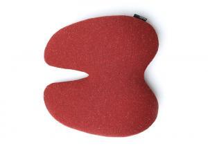 Quality Foam 3D Ventilative Mesh Pain Relief Memory Foam Back Cushion Peak Shaped for sale