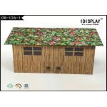 Caja de regalo formada casa reciclada de la cartulina que empaqueta para la promoción del producto
