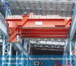 QD Model 2ton - 320ton Heavy Duty Double Girder Bridge Crane Installed with Electric Winch