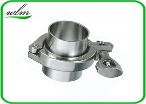 China ISO 2852 Sanitary Stainless Steel Tri Clamp Fittings , Clamp Pipe Couplings For Food Industry on sale