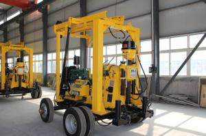 China Trailer-mounted Drilling Rig on sale