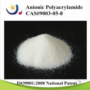China Wastewater treatment chemicals polyacrylamide Flocculant Anionic, Nonionic on sale