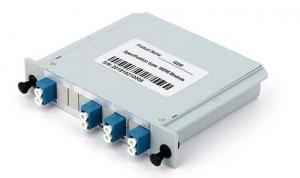 China LC UPC 4ch CWDM Coarse Wavelength Division Multiplexer on sale