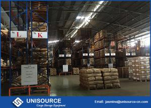 China Conventional Warehouse Storage Racking Systems For Food / Tea / Beverage on sale