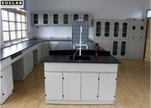 China University Laboratory Steel Lab Bench Electric Supply Customized Size on sale