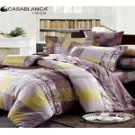 China Reactive Printed Floral Bedding Sets Exquisite With Stitching Workmanship wholesale