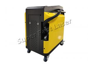 China Industrial Automatic Laser Cleaning Equipment 200 Watts 1 - 12cm Adjustable Pulse Width on sale