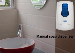 China 1L Refillable commercial grade soap dispenser , Wall Mounted Liquid Soap Dispenser on sale