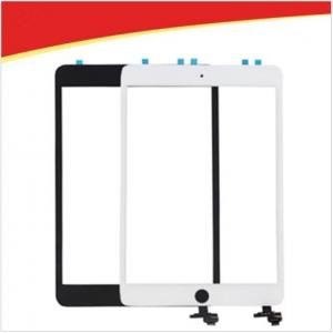 China For ipad mini 3 touch screen + ic flex chip + home button flex cable assembly, replacemen spare part for ipad mini 3 lcd on sale