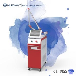 China Professional Electro-Optic q switch nd yag laser pigmentation removal birth mark removal tattoo laser removal machine on sale