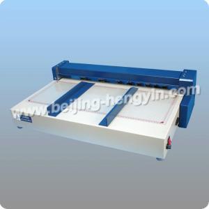 China Fabricante profissional perfurador bonde do papel de uma finalidade de 23 polegadas multi e máquina vincando on sale