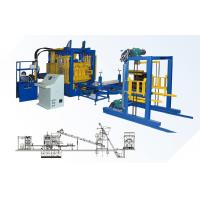 QT10-15 European Quality Full Automatic Concrete Block Making Machine