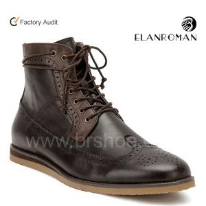 China New trend high ankle men boots on sale