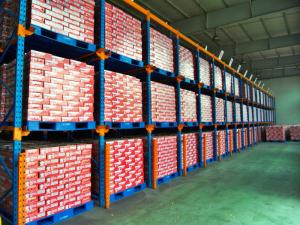 China Powder Coated Drive In Pallet Rack , Durable Steel Pallet Racking on sale