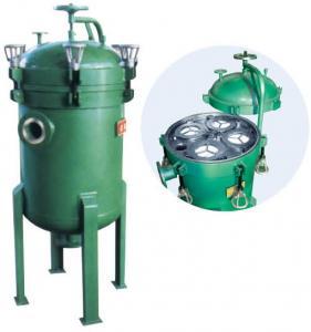 China Carbon Steel / Stainless Steel Industrial Bag Filters Used Sweet Water , Resin etc on sale