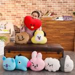 Handcrafted Soft Polyester Stuffed Animal Dolls Durable Pillow 30cm multiple Style