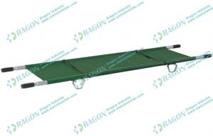 China Iron emergency folding stretchers in ambulance with four flexible non - slip handles on sale