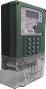 China STS Prepaid Keypad Single Phase Electric Meter Active / Reactive Energy Measurement on sale