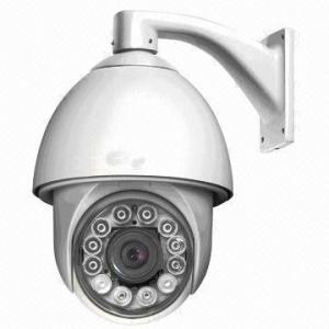 China 24VAC Dome IR Camera CCD , 360°Continuous Rotation , IR Range 100M on sale