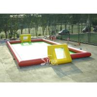 Adult N children giant interesting water inflatable football field for outdoor games