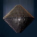 lustre de l'appareil d'éclairage 886/15, lampe pendante