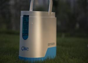 China Custom Battery Mini Olive Oxygen Concentrator 90W For General Health Care on sale