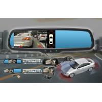High Security Reverse Parking Sensor , Front And Rear Parking Sensors PAL / NTSC Standard