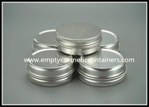 China Custom 35g Aluminum Tin Cans Small Jars Empty Lip Gloss Containers on sale