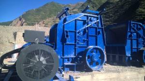 China 300t/H Portable Vertical Impact Crusher Machine For Coal Fly Ash Crushing on sale