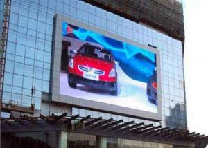 China P10 1R1G1B Outdoor Full Color LED Display screen for advertising , high Refresh rate on sale