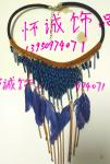 Bohemia series short feather necklace