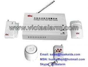 China Auto-dial Wireless Burglar Alarm System on sale