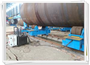 China Pipe Growing Line Used Hydraulic Fit Up Turning Roll 200T Bridge Pile Job on sale