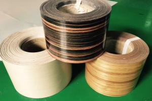 China Profile Wrapping Veneer Finger Jointed Continuous Veneer Rolls for Doors and Windows Industries on sale