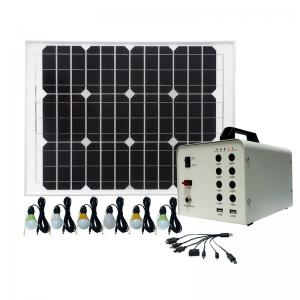 China High Power Solar Home Lighting System / 3W Solar Powered LED Lights For Homes on sale