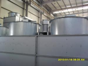 China Square Type Industrial Water Chiller With Alum - Zinc Galvanized Steel Plate Shell on sale