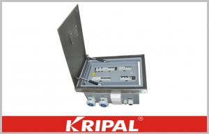 China Exhibition Hall Industrial Distribution Box Metal Cabinet IP66 for Stand on sale
