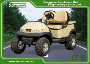 China 205 / 50-10 Tyre Electric Utility Carts With Italy Graziano Axle on sale