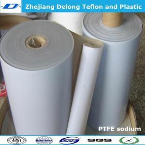 China sodium PTFE sheet stick to rubber metal on sale