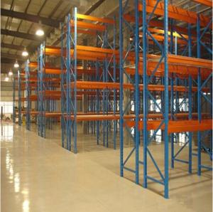 China FIFO Pallet Live Racking / Stainless Steel Rack Upright Customized For Heavy Duty Goods on sale